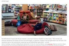 Boete bij bibliotheek afbetalen door te lezen