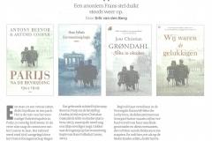 Omslagen Frans stel - Volkskrant 25-11-2017