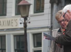 Lezen op straat