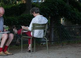 Lezen in Parijs