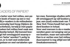 E-readers of papier Vk 14-8-19